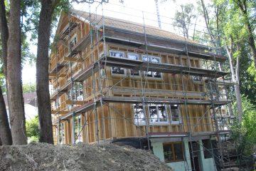 Holzrahmenbau Haus